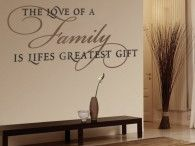 Wall Decal Quotes / Liven up the walls of your home and consider the simple yet striking beauty of these remarkable wall quotes. Wall sticker quotes offer a stylish way of expression, and since they are removable, you can easily express yourself as often as you wish!