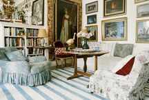 """THE LIVING ROOM  / """"Rooms should be timeless""""~ Sister Parish DELICIOUS ROOMS / by Deborah Wiltshire Whaley"""