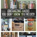 Organizing & Decluttering