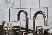 Modern Metallics / These aren't your ordinary metallic tile & stone designs.