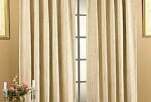 Pinch Pleat and Back Tab / Pinch pleated curtains and pinch pleated draperies have gathered fabric folds at top that create a custom made look, at affordable prices. Pinch pleated draperies work best with a traverse rod, the traverse rod moves the draperies when the cord is pulled. Decorative rods also work with pinch pleated drapperies when used with coordinating decorative rings, to allow your panels to glide with ease.