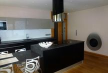 Patelova Marketa, Prague 8 apartment / Designing new kitchen and new bathroom space after joining two flats together