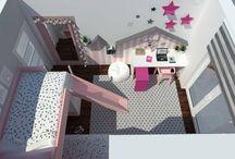 Detské izby/ Kids room / Nástenka slúži ako inšpirácia pre všetkých, ktorí sa zaujímajú o bývanie, nové trendy v interiérovom dizajne a pre tých, čo potrebujú moju pomoc, či radu :-)