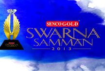 Swarna Samman 2013 / Swarna Samman is the annual extravaganza held by Senco Gold jewellers, which involves employee participation and facilitating achievers in fields of art, culture or sports.