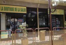 La tienda / La Boutique de la Salud, la tienda donde encontrará todos los artículos necesarios.