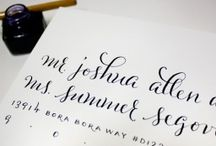 Calligraphy / by Lindsay Edwards