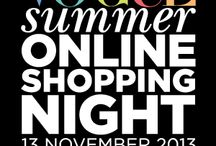 Vogue Online Shopping Night / Pamper Hamper Gifts are proud to take part in the Vogue Online Shopping Night 2013