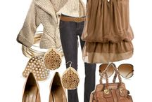 Brown and beige styles