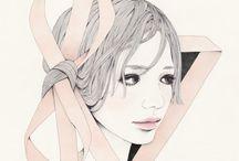 Illustrations / Paintings / by Elisa Winata