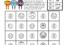 math games / by Amy Treptow