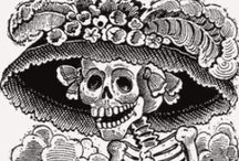 Dia de los Muertos / Oh, may I join the choir invisible Of those immortal dead who live again. ~George Eliot / by Amy Walker