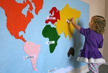 montesorri geography ideas