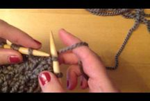 points tricots et crochets