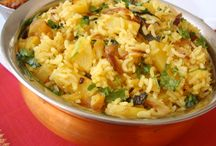 Indian rice main course dishes / by RoshniC RoshniPin
