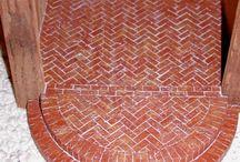 Dockskåps väggar och golv