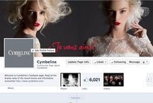 Join us on Facebook! Rejoignez-nous sur Facebook! / by Cymbeline Paris
