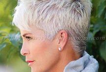 Short Grey Hair Styles For Women Over 50