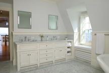 Laura's House: Bathrooms / by Heidi Sentivan