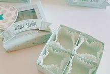 Pralinen Schachteln