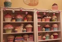 decorativos com cupcake