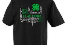 4-H Club T-shirt Designs
