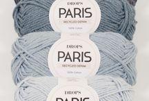 Combinación de colores en lana