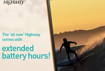 Wiko Highway / With technology supporting creativity and an excellent design, #WikoNigeria brings the HIGHWAY!