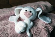 BLANKETS TOYS / by AMIGURUMI KNIT And CROCHET