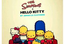 Hello kitty e personagens