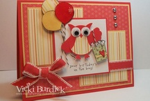 owl card ideas / by Janette Nelson
