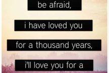 Fave lyrics
