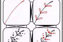 Zentangle minták