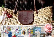 Bolsas Palhas Naturais e Sintéticas customizadas / Vendas pelo site : www.lindarteirahavaianas.com.br