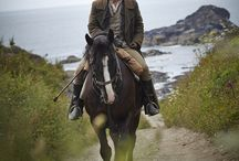 Love Poldark / From the books to the TV series, old and new, #Poldark is #Cornwall. Breathtaking scenery, mining history, spectacular #coastline, #Aiden Turner. Love it!
