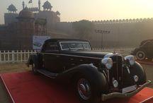 21 Gun Salute Rallye 2016 / Classic Car Event in New Delhi, India