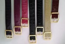 Veari Exotic women's belts / Take a look to the wild world of exotic leather ( alligator, crocodile, ostrich, sea turtle,lizard, etc, for additional info go to www.veari.com