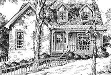Cottages to Build / by Abbey {Leaning Shanty Farm}