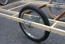 Wheels self powered