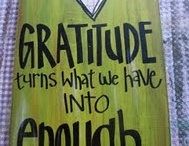 gratitude / by Angie Polley
