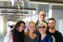 Student Exchange to Brazil / Being welcomed at the airport in Brazil for a student exchange