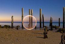 Ball of light photography