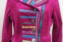 customised / upcycled clothing by McAnaraks / 2nd hand clothing that I have funked up www.mcanaraks.com