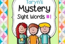 Sight Word Fun! / Fun lessons, activities and products to help emerging readers learn Sight Words!