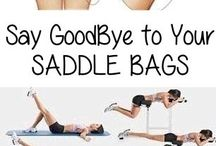 Saddle bag workout
