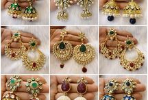 Indian Wedding Jhumkas / Jhumkas are a staple for any South Asian bride's trousseau. Get inspired on the right size, styles and designs for you!