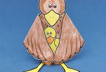 Bird Crafts for Kids / Bird Crafts Kids can Make