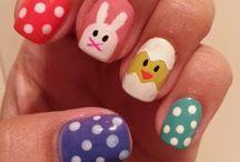 velikonoční nehty