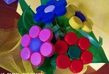 riciclo tappi di plastica