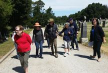 Field Trip to St. John's Cemetery in San Mateo