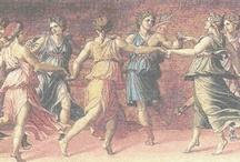 Greek Mythology Illustrated / Beautiful illustrations of ancient greek gods godesses nymphs and myths